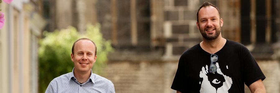 Behind the scenes: Maarten en Sjoerd stellen zich voor