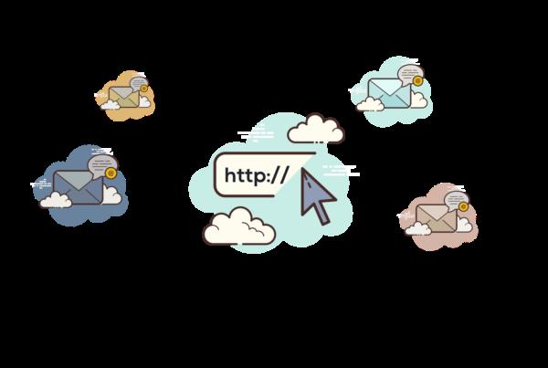 Multiple sending domains