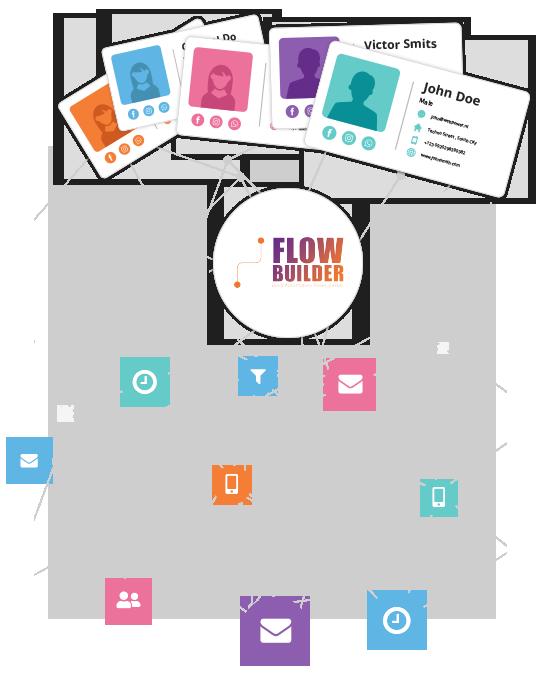 Flow builder contacts