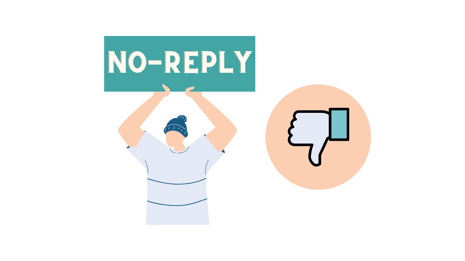 Di NO al no-reply