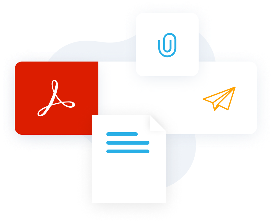 Email pdf attachments