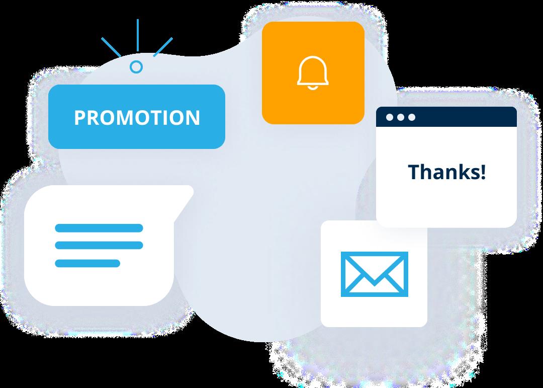 Ecommerce communicate email marketing automation